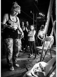 performence art battle