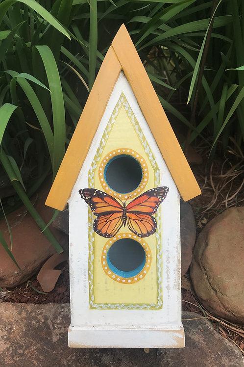 Small Monarch Birdhouse