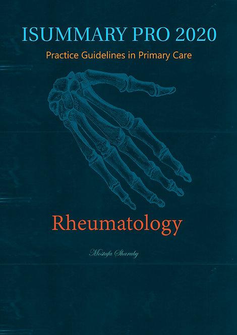 iSummary Pro 2020 Rheumatology