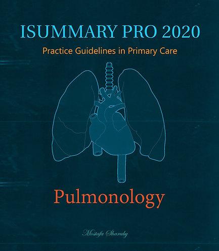 iSummary Pro 2020 Pulmonology