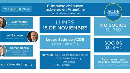 El impacto del nuevo gobierno en Argentina