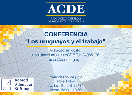 Conferencia: los uruguayos y el trabajo