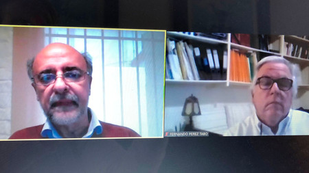 Encuentro virtual con Pablo Mieres,  Ministro de Trabajo y Seguridad Social.