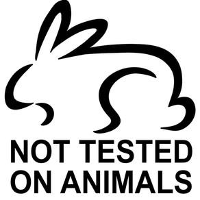 Nuestros productos no se testean en animales