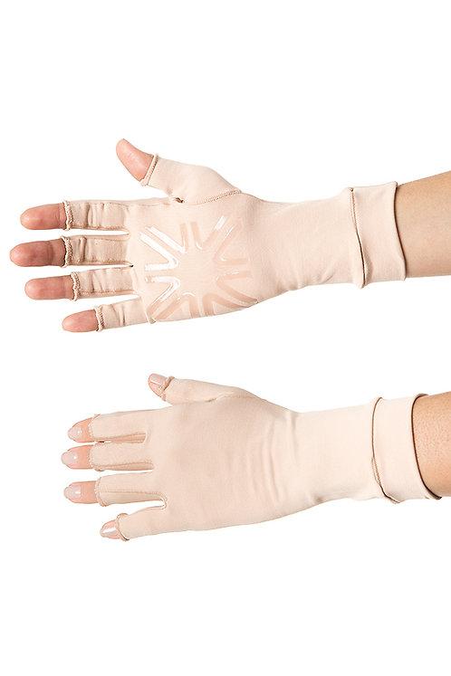 Guante medio dedos largos