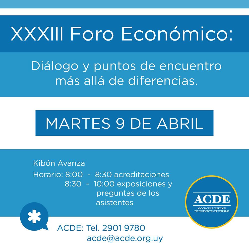 Foro Económico de Acde