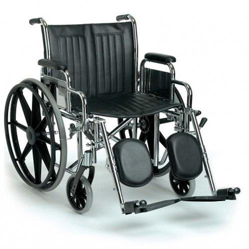 Silla de ruedas obeso