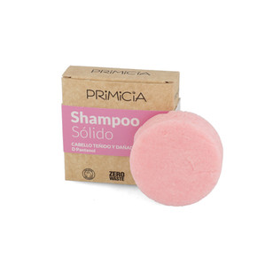 Shampoo sólido con d pantenol