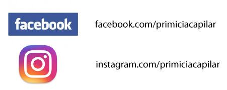 Nuestra cuenta en Facebook e instagram