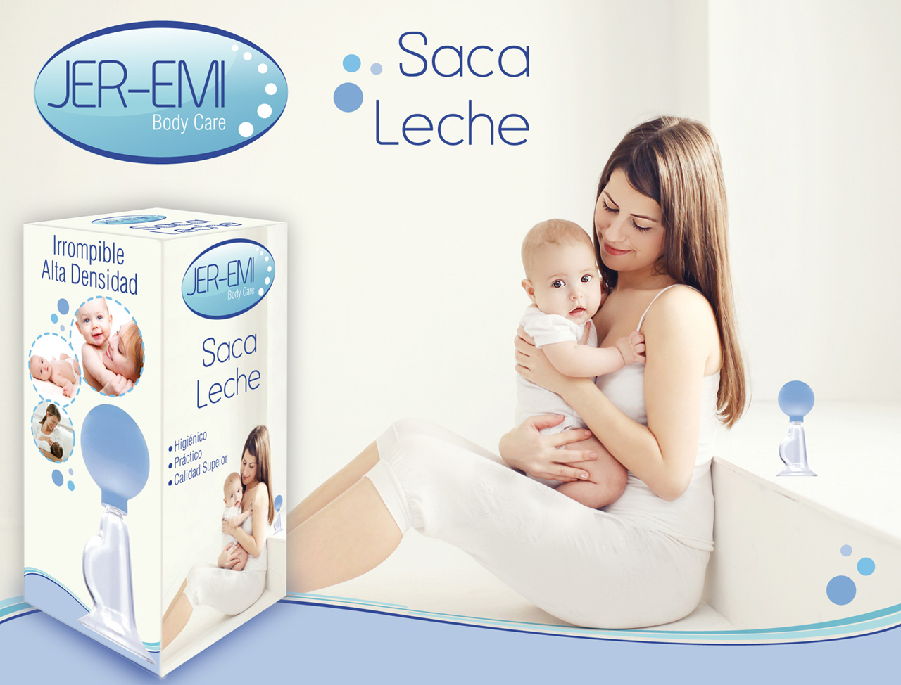 Diseño de Packaging para Saca Leche