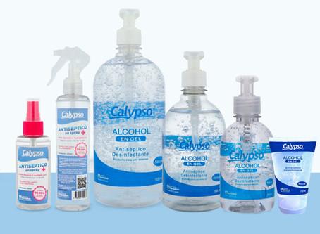 Nueva línea de Desinfectantes Calypso
