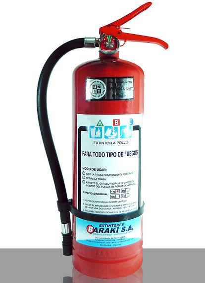 Extintor Baraki 4 kg