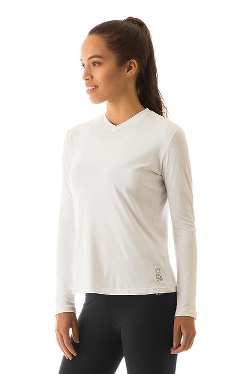 Camiseta Sport Fit ML Mujer