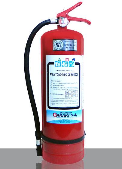 Extintor Baraki 8 kg