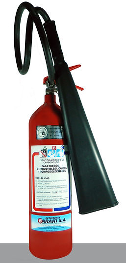 Extintor Baraki CO2 3.5 kg