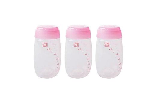Frascos para leche materna