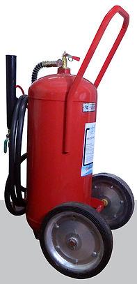 Extintor polvo químico Baraki 50 kg