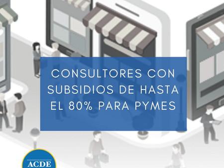 Subsidios de hasta el 80%