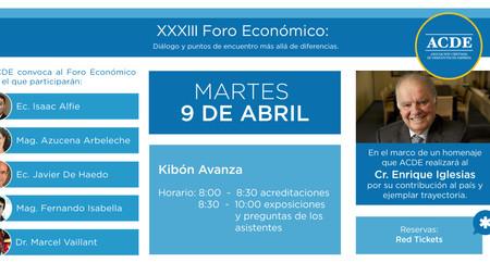 XXXIII Foro Económico