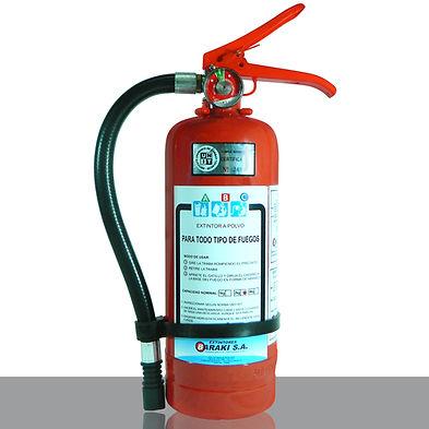 Extintor Baraki 2 kg