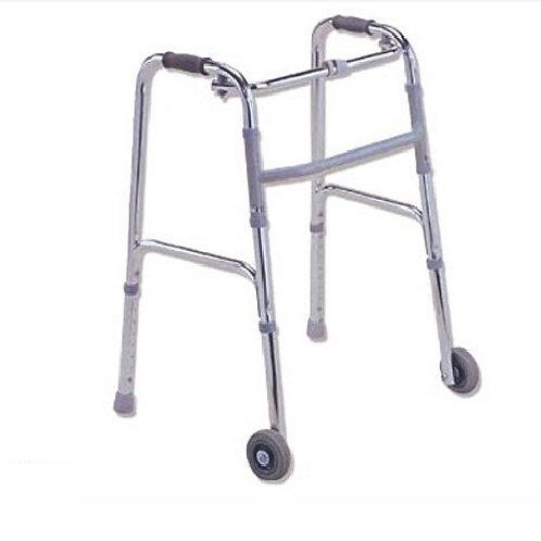 Andador con ruedas frontales