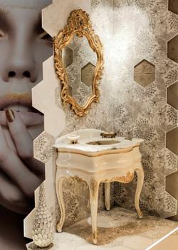 Afrodite 70cm White-GOLD
