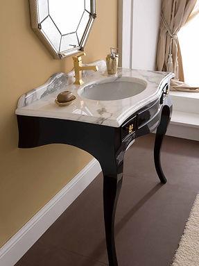 Desiderio due black white avangard bathroom furniture.jpg