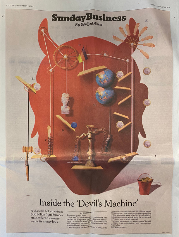 "Global Financials & Random Musings. ""Inside the Devil's Machine"""