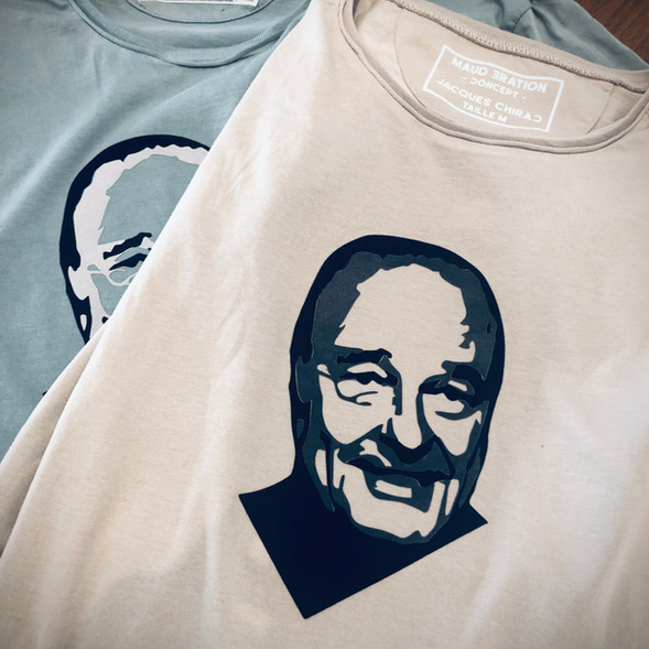 Jacques chirac t-shirt