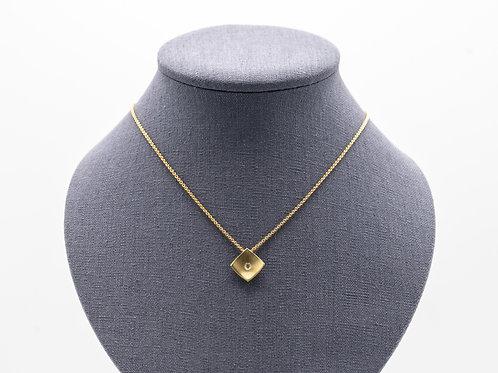 Halskette mit Brillantanhänger