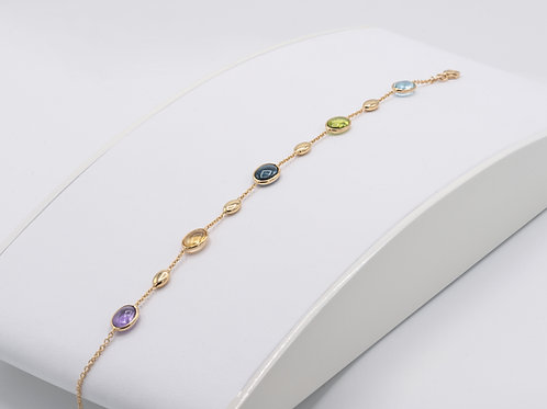 Armband mit multicolor Farbsteinen