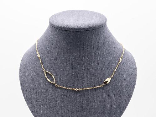 """Halskette """"STELLA"""" mit Brillanten"""