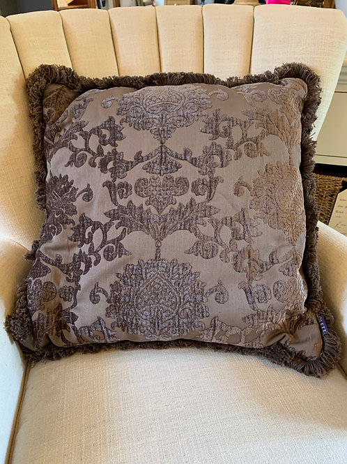 Prov@Home Chocolate brocade Cushion