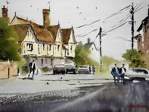 Stoke by Nayland  - Watercolour