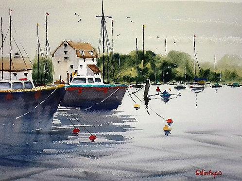 Tidemill, Woodbridge - Watercolour