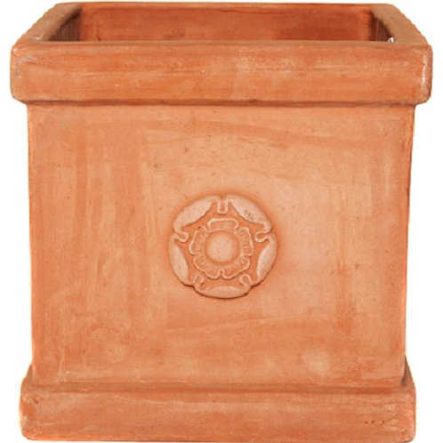 English Heritage Rose Box Clay Planter