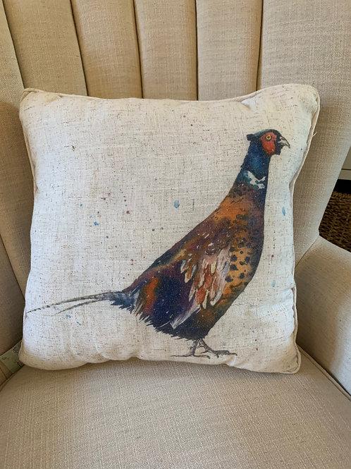 Pheasant Cushion - single