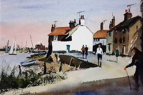 Wells-Next-The-Sea - Watercolour