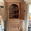 Antique Georgian Pine Corner Cupboard Open Doors