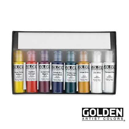 Select Professional Fluid Acrylic 8 Set