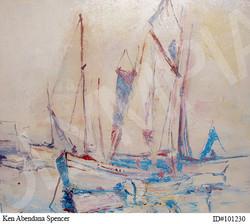 Sails at Sea