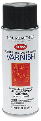 Picture & Oil Painting Spray Varnish