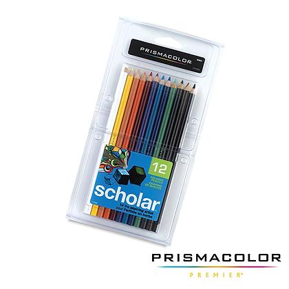 Scholar Colour Pencils 12pk