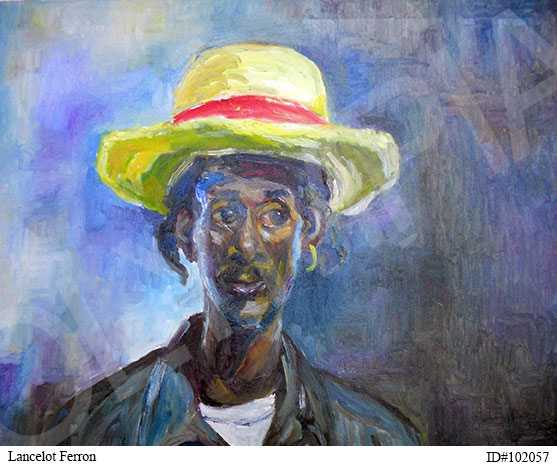Man in Yellow Hat