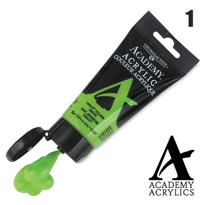 Academy Acrylic Paints - 90ml - #1