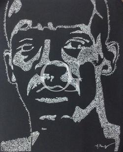 Portrait of Usain Bolt
