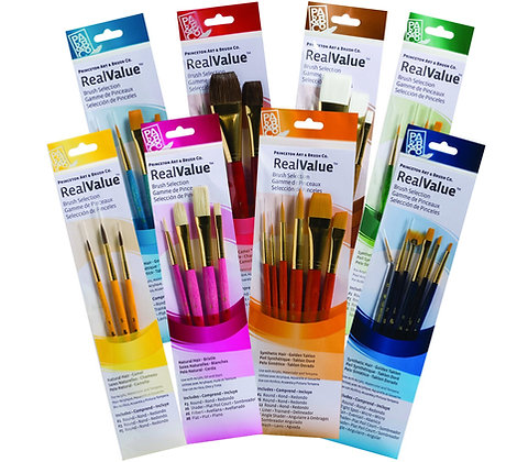 Real Value Brush Sets