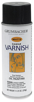 Damar Spray Varnish for Oil Paintings