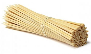 """12"""" Bamboo Skewers 100pc"""