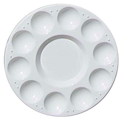 Water/Paint Round 10 Well Tray